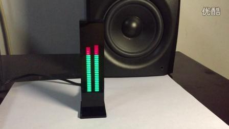 AS30雙聲道30段超精準LED電平顯示音樂頻譜電子DIY套件節奏燈VU表