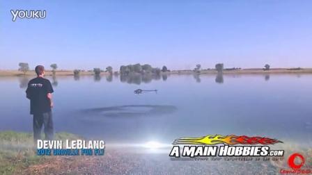 水上直升机3D特技暴力飞行表演 疯狂的蜻蜓
