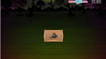 僵尸芭比的花园装饰   超恐怖的花园设计  万圣节的到来          益智装扮小游戏