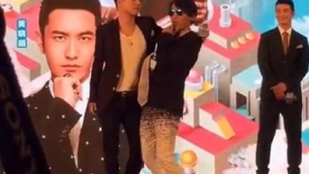 【BIGBANG】160602加油美少女发布会  胜利羽凡卖萌五连拍  胜利黄晓明大跳fantastic baby