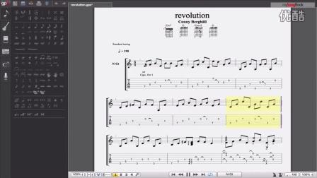 重磅来袭!【吉他谱】一个人的乐队!惊叹、震撼的芬兰指弹手Conny Berghäll - Revolution【HD】