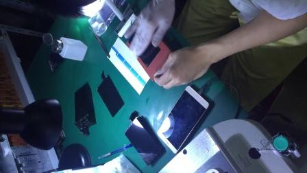 苹果6换外屏,压屏贴合,换偏光,一体盖板视频