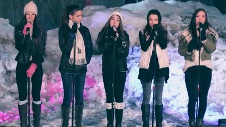 五大雪地2之美女献唱好听英文歌壁纸美女v雪地图片