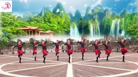 美久广场舞黄河三门峡城市歌曲.杨杰演唱