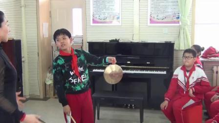 五年级音乐课《音乐欣赏-打溜子》教学视频-呼市四中优质课展评活动