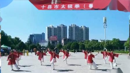 高安太极拳协会《42式太极剑、陈氏28式太极拳》上高庆祝建国70周年十县市太极拳
