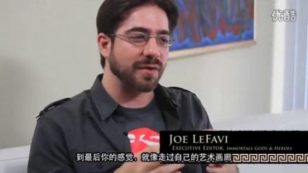 全世界最豪华的漫画创作团队巅峰之作---《惊天战神》漫画版主创访谈相关的图片