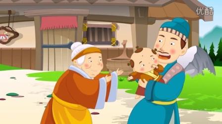 中国经典童话故事50 两父争子