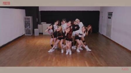 【风车·韩语】PRISTIN《WEE WOO》舞蹈练习室版