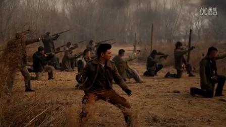 《向着炮火前进》吴奇隆拍摄现场大展男子气魄