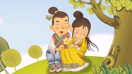 中國經典童話故事55 望夫石