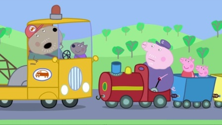 小猪佩奇第二季:爷爷的小火车