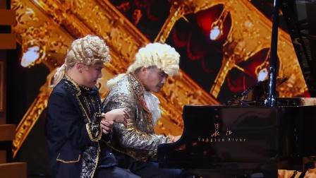 潘长江女婿变身钢琴大师 现场高难度合奏琴谱 171123 我为喜剧狂