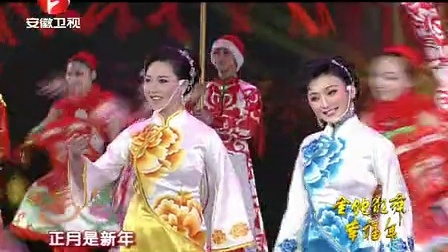 黃梅戲《正月里是新年》何云 王瑩 李潔 袁媛 凌夏 梅院軍 44