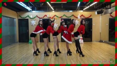【KHD】EXID-上和下MV(圣诞版舞蹈练习版)