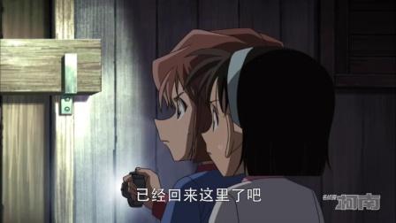 名侦探柯南:灰原等人意外躲进案发现场,凶手一直在撞门,灰原等人躲进山中小屋,却发现这里就是案发现场!