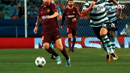 梅西:足球盘带技术的精华所在