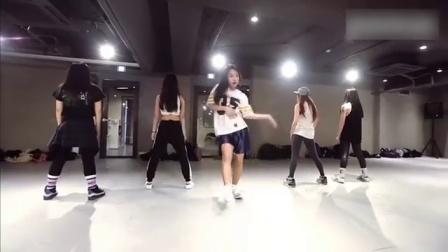 这!就是街舞 第一季 Mina Myoung编舞爆发力超强