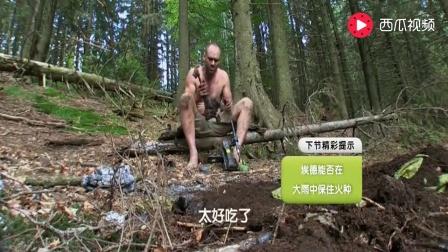 荒野求生: 德哥在土里扒了5分钟, 接下来很大的惊喜来了