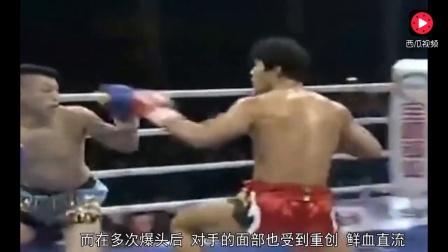 日本拳王开口辱骂, 被死神方便暴打跪地求饶, 不敢再嚣张!