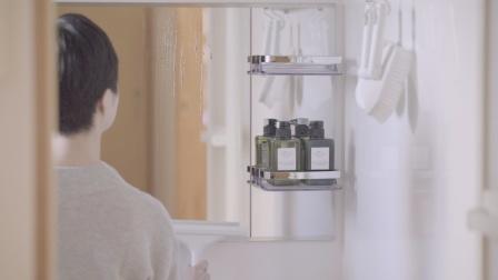 每天随手之间。每天舒适整洁。Bath Mirror