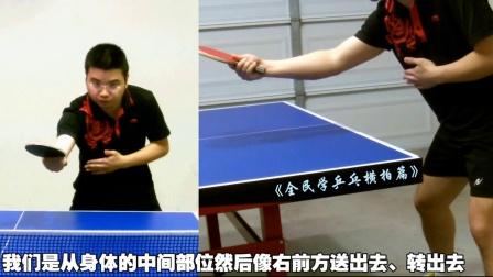 《全民�W乒乓�M拍篇》第6.1集:反手�M�芗夹g特�c分析源�a_乒乓球教�W��l
