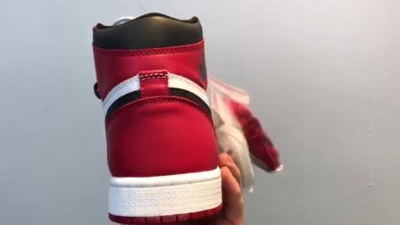 【313街區】#最高工藝 純原體現 虎撲版本 # 純原 Nike Air jordan1 芝加哥 元年 貨號:555088-101碼數:40-47.5帶半碼
