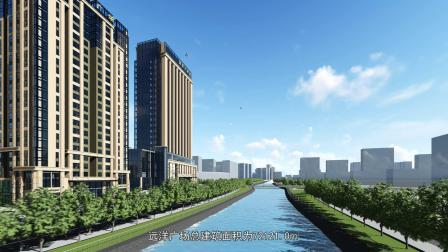 天水天水广场远洋-甘肃建筑设计院BIM设计所倾房地产设计部门的重要性图片