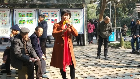 VID20180301,中山公园(越剧祥林嫂)你到我家五年长,小吴演唱,甬闻录制《原创,如有雷同均为盗版必究》。