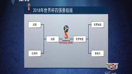2018年世界杯四强晋级版 体育世界 180712