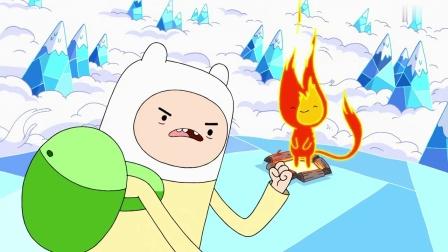 探险活宝:小火球说他的消息一向灵通,冰霸王准备要绑架公主