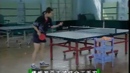 乒乓球横拍-发球技术