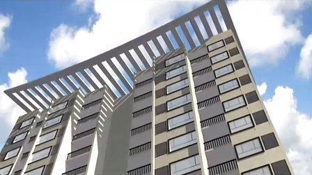 吉林大学珠海学院_艺术系环艺毕业设计_建筑动画《荷园》