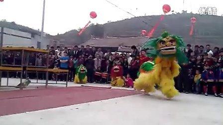 泉州舞狮队表演