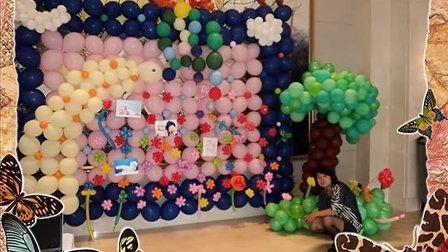 气球造型教程 步骤花