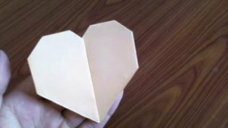 心形怎么叠步骤图解