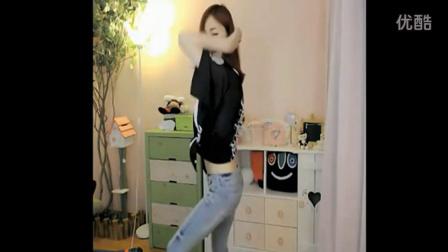 韩国女主播DJ舞曲-Blockbuster cry to God牛仔裤热舞