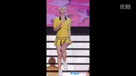 韩国AOA 朴草娥 - 短发美女热舞 150911