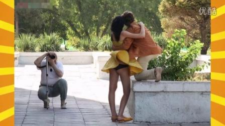 29.盘点情人们让人害羞的搞笑瞬间(祝天下所有的情侣都是失散多年的兄妹)