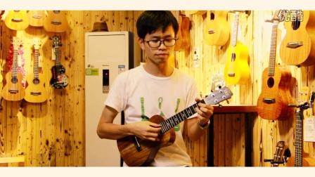 天空之城吉他谱 图片谱,尤克里里,弹唱 蒋敦豪
