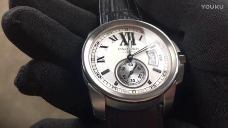 手表之家 JF卡地亚CALIBRE DE CARTIER 系列W7100037卡利博男士机械腕表 一比一复刻