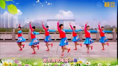 吉美广场舞《康巴情》原创藏族舞《广场舞》