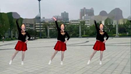 宜阳明萱广场舞 一晃就老了 中老年广场舞视频教学分解 正背面表演示范 初学者的最爱