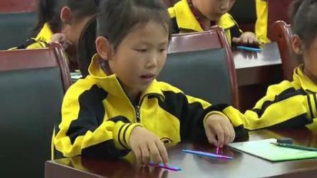 一年级数学《快乐的小鸭》优秀教学视频