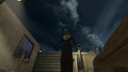 邪恶修女1.7.0版本被鬼修女埋在墓地里面的结局