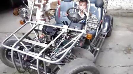 我爱发明 自制车 卡丁车