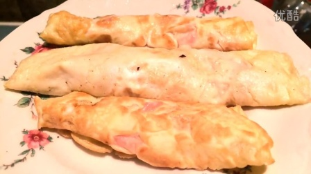 统爷厨房 - 鲜嫩可口的蛋皮卷肉