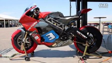 2016款胜利电动摩托车 Empulse TT 赛道试骑测评视频
