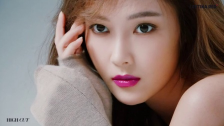 151204 Jessica郑秀妍 HIGH CUT vol.163  拍摄花絮