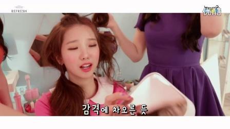 【瘦瘦717】CLC 舞蹈MV拍摄花絮 - 变得漂亮